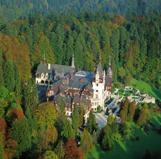 Peles Castle in your cycling tour