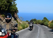 greece-morcycle tour  clasic motorbike tours Greece
