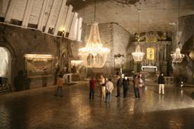 Salt Mine-North Eastern Europe Motorcycle Tour